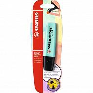 Stabilo - Blister 1 boss original pastel - touche de turquoise