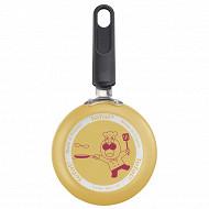 Chef club mini poele à crepe 12 cm non induction