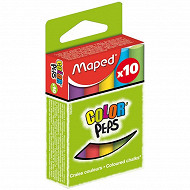 Maped - Craies couleurs standard x 10 935111