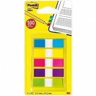 Index post-it set 100 mini index 5 couleurs