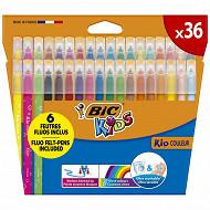 Feutres de coloriage Bic kids couleur x36