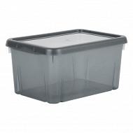 Funny box avec couvercle gris acidulé 4l