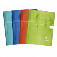 Clairefontaine cahier piqûre 17x22 cm 140 pages seyes 90 grammes