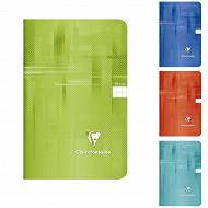 Clairefontaine - Carnet piqure 11x17 96 pages 5x5 couverture pelliculée