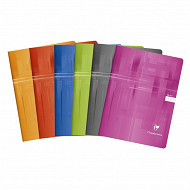 Clairefontaine cahier piqure 24x32 cm 48 pages seyes  90 grammes