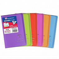 Clairefontaine - Kover book carnet piqure avec rabats 90*140 96p 5*5