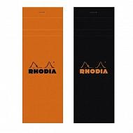 Rhodia bloc 7.4x21 cm 160 pages petits carreaux