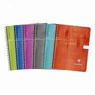 Clairefontaine cahier reliure intégrale 17x22 cm 100 pages seyes