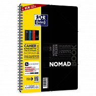 Oxford cahier nomadbook b5 seyes 160 pages