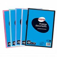 Cora protège documents soudé personnalisable 160 vues polypro