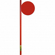 Cora nappe gaufrée rouge 6mx1.35m