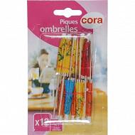 Cora 12 piques ombrelles