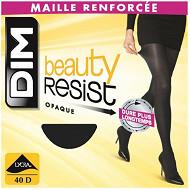 Collant opaque beauty resist Dim NOIR T4