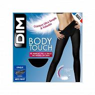 Collant opaque body touch Dim NOIR T4