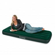 Airbed gonfleur incorpore 1 place