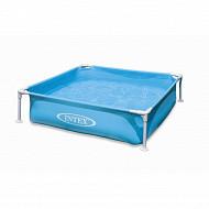 Intex piscinette tubulaire acidulée 122 x 122 x 30 cm