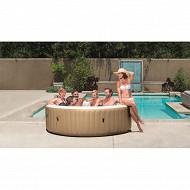 Pure spa 6 places rond bulles 2m16x71cm