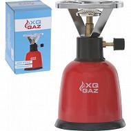 Réchaud à gaz H20,5 x 11,5 x 11,5cm 365gr pr 190 gaz butane non incl