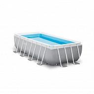 Kit piscine prism frame rect tubulaire 4x2x1m