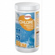 Chlore lent galets de 200g en boîte de 1.2kg