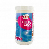 Chlore choc  1,2 kg