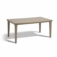 Allibert table futura cappuccino 165 x 95 x 74 cm
