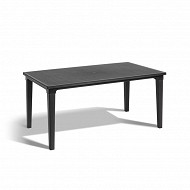 Allibert table futura graphite 165X94X74cm