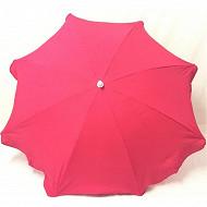 Anjosa parasol 180/8/22/25 mat inclinable aluminium uni fushia n°7