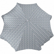 Parasol n240/8/22/25 polyc mat inclination alu