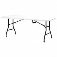 Table d'appoint pliable en résine 180cm