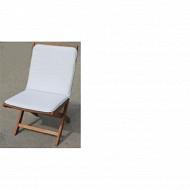 Anjosa coussin monobloc 90X45 epaisseur 3cm gris clair réf 102950