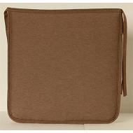 Anjosa galette carrée 38x38 epaisseur 3 cm taupe dm