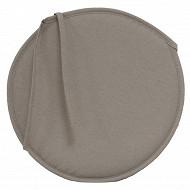 Anjosa galette ronde epaisseur 3cm gris clair