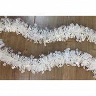 Guirlande étoiles blanc 2mx6cm