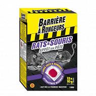 Barrière à rongeurs rats & souris  appât sur pâte 150 g