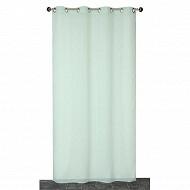 Panneau étamine fils coupes 140x240 cms vert d'eau