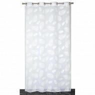 """Panneau étamine impression """" gomme"""" 140x240 cms blanc"""