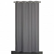 Panneau tissu lourd polyester coton 140x240 cms gris
