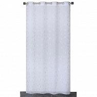 Panneau étamine impression métal 140x240 cms blanc