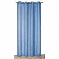 Panneau fils argent 140x240 cms bleu