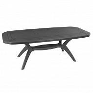 Grosfillex table Ibiza anthracite 2200x1000x720 cm