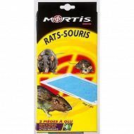 Mortis piège à glu rats souris x2