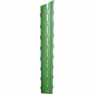 Tuteur acier plastifié 2m10 vert à l'unité