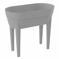 "Jardinière haute ""cancun' volume 48 l - girs beton"