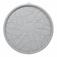 Soucoupe à roulettes 45 cm - gris galet