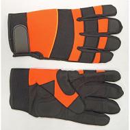 Gants motoculture, paume synthétique, dos nylon spandex noir taille 09