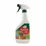 Cora répulsif chien chat prêt à l'emploi 750 ml