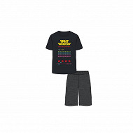 Pyjacourt space invaders homme NOIR SPACE INVADERS XXL