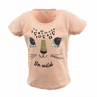 Tee shirt manches courtes fille ROSE 13-1310 TPX 14 ANS