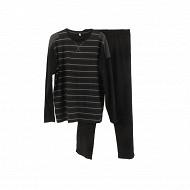 Pyjama NOIR RAYE / NOIR XXL